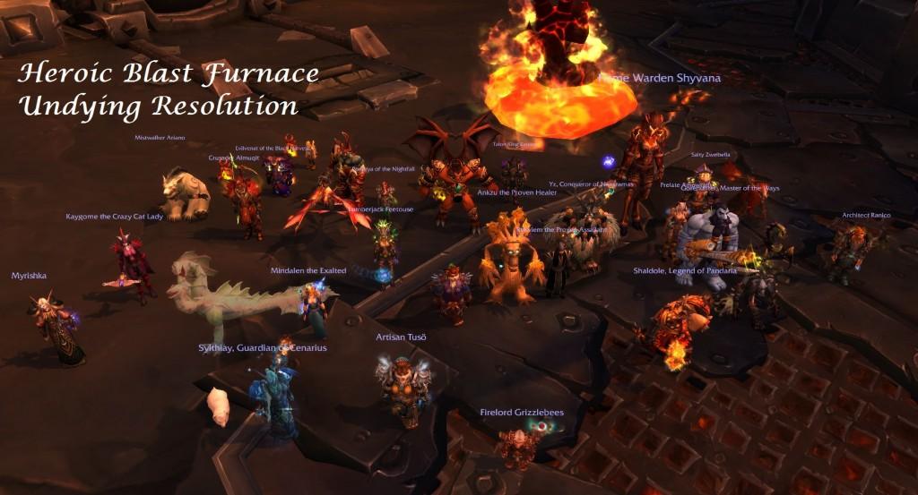 Heroic Blast Furnace