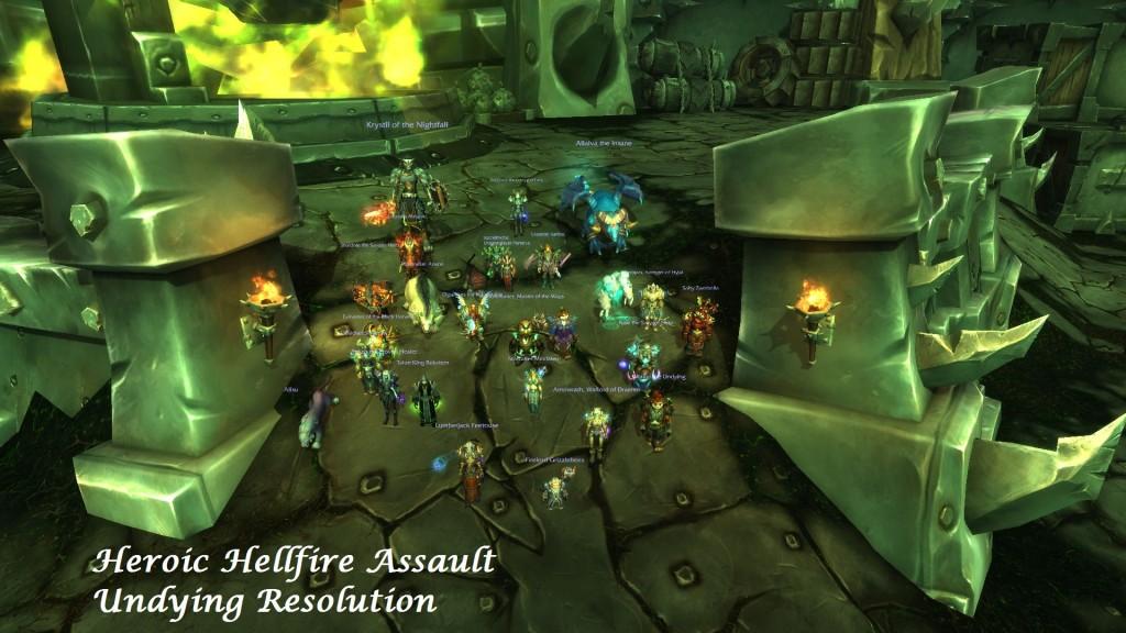 Heroic Hellfire Assault